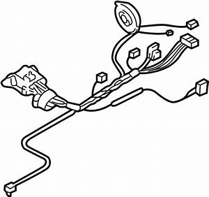 Cadillac Cts Steering Column Wiring Harness  Auto Trans