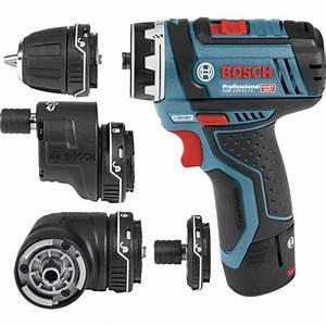 Bosch Gsr 12v 15 Fc : perceuse visseuse bosch sans fil multifonction flexiclick ~ Melissatoandfro.com Idées de Décoration