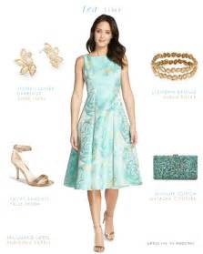 dresses to wear for a wedding tea length or midi length dresses for weddings