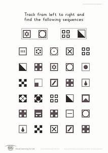 Visual Processing Worksheets