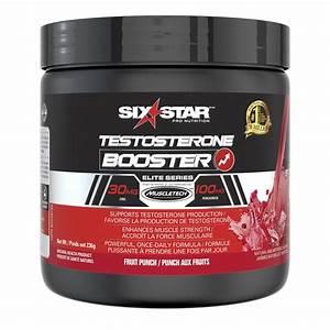 Six Star Elite Series Testosterone Booster Fruit Punch Powder