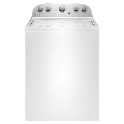 high efficiency washer whirlpool 3 5 cu ft high efficiency top load washer in