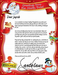 official north pole mail personalized letters from santa With free santa letters from north pole uk