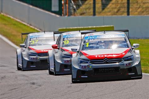 Citroen Motorsport Muller Lpez And Loeb Star At Spa