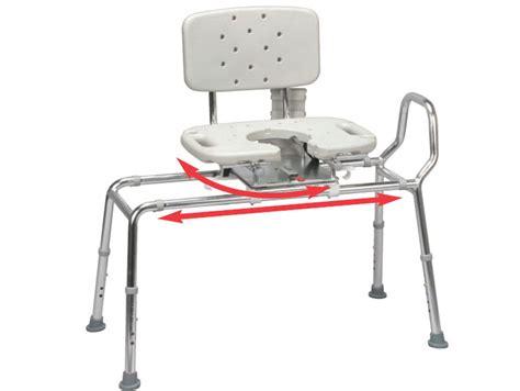 bathtub transfer bench swivel seat sliding shower bath transfer bench chair w swivel seat