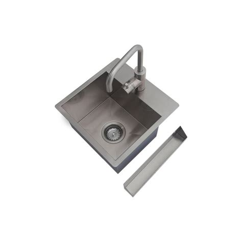 Home Depot Stainless Bar Sink by Newage Products Home Bar Sink Kit In Stainless Steel 60804