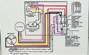 Ac Condensing Unit Wiring Diagram  Ac  Wiring Examples And