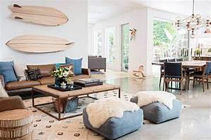 Style Bord De Mer Chic : d co boh me chic une maison californienne qui m lange bien les styles ~ Dallasstarsshop.com Idées de Décoration