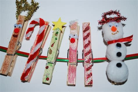 clothespin craft christmas pinterest
