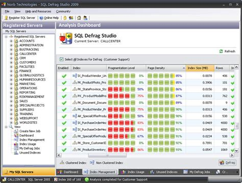 sql defrag studio   index defragmentation software