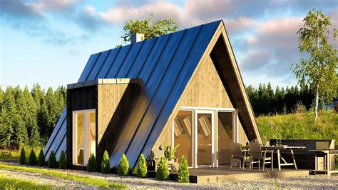affordable duo  frame house   built