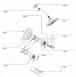 Moen Ts3411 Parts List And Diagram   Ereplacementparts Com