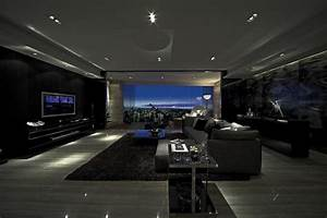 Modern gray interior design home decorating excellence for Interior decorating dark rooms