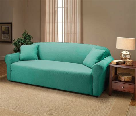 Sofa Loveseat Slipcovers by Aqua Jersey Sofa Stretch Slipcover Cover Chair