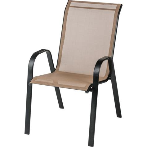 Stacking Sling Chair by Academy Mosaic Stackable Sling Chair
