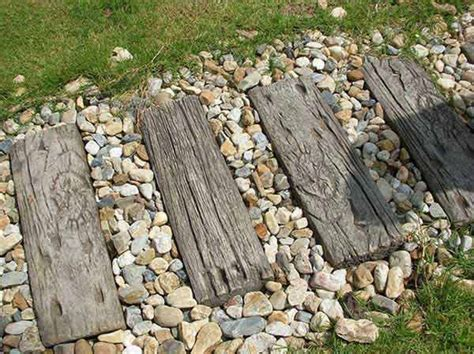 Wood Plank Flower Beds