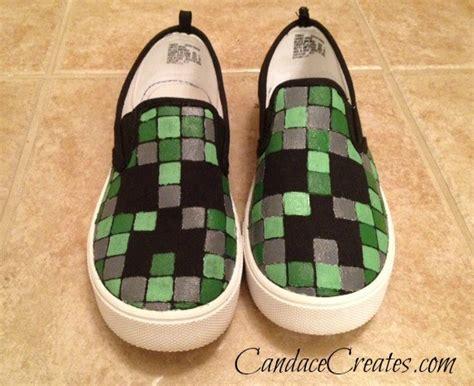 Diy Minecraft Shoes