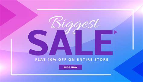 Sale Original stylish purple advertising sale banner voucher vector