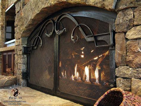 forged iron fireplace doors fireplace doors fireplace
