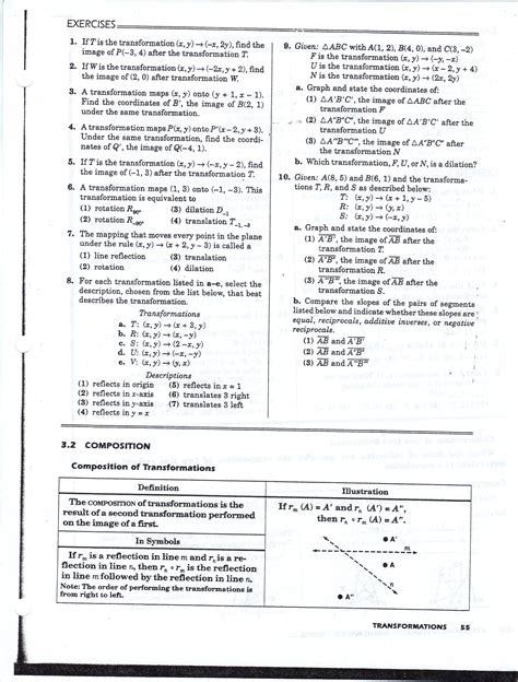 worksheet geometry translations worksheet worksheet