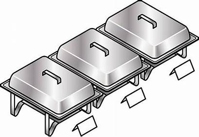 Buffet Clipart Vector Clip Chaffing Cliparts Chafer