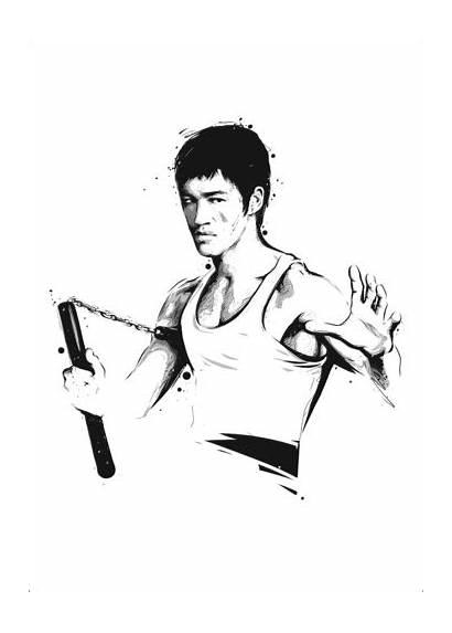 Bruce Lee Poster Posterlounge Posters Plakat Premium