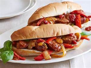 Sausage, Peppers, And Onions Recipe Dishmaps
