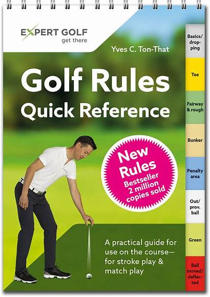 Golf Rules Reference Quick Regole Guide Course