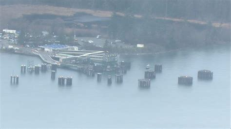 1 dead after SUV plunges into water at Anacortes ferry ...