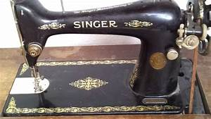 Alte Nähmaschine Kaufen : alte singer n hmaschine klasse 66 old sewing machine youtube ~ Jslefanu.com Haus und Dekorationen