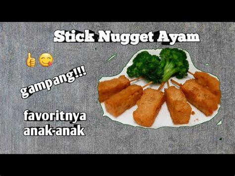 Membuat chicken nugget selain menggunakan daging ayam sebagai bahan dasarnya juga bisa dipadukan dengan aneka sayuran. RESEP STICK NUGGET AYAM PRAKTIS DAN ENAK - YouTube