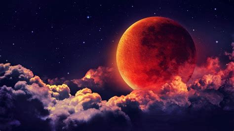 blood moon wallpapers top  blood moon backgrounds wallpaperaccess
