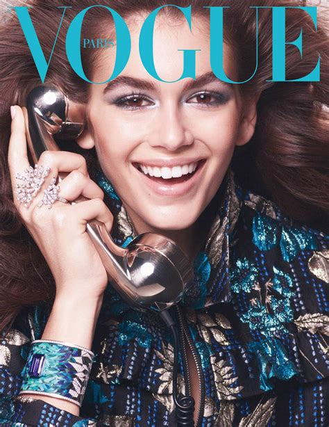 Kaia Gerber covers Vogue Paris October 2018 by Mikael ...