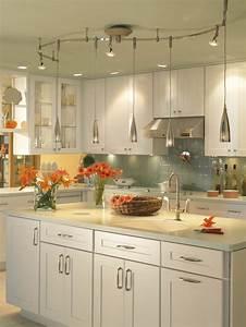 Illuma Flex Track Lighting Installed In A Kitchen From