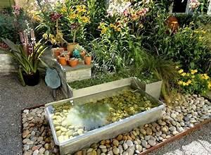 Jardin Deco Exterieur : d co jardin ext rieur 20 exemples pour les mains vertes ~ Teatrodelosmanantiales.com Idées de Décoration