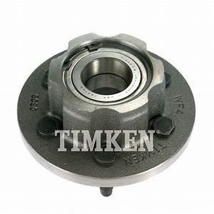 Wheel Bearing And Hub Assembly Front Timken Ha599528 Fits