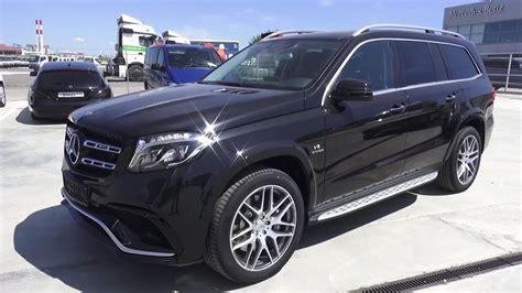 2016 Mercedes-benz Gls 63 Amg (x166). Start Up, Engine