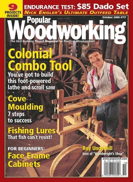 popular woodworking  october