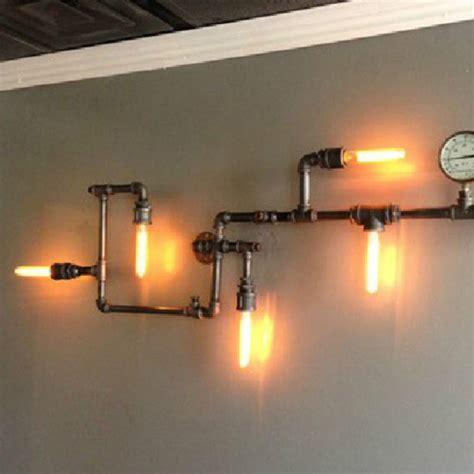 new industrial steunk wall l retro wall light rustic