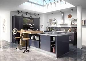 Kitchens Implantation Cuisine With Regard To En U Avec