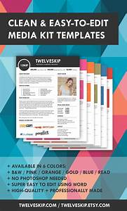 media kit templates diy click the pin to get one today With advertising media kit template