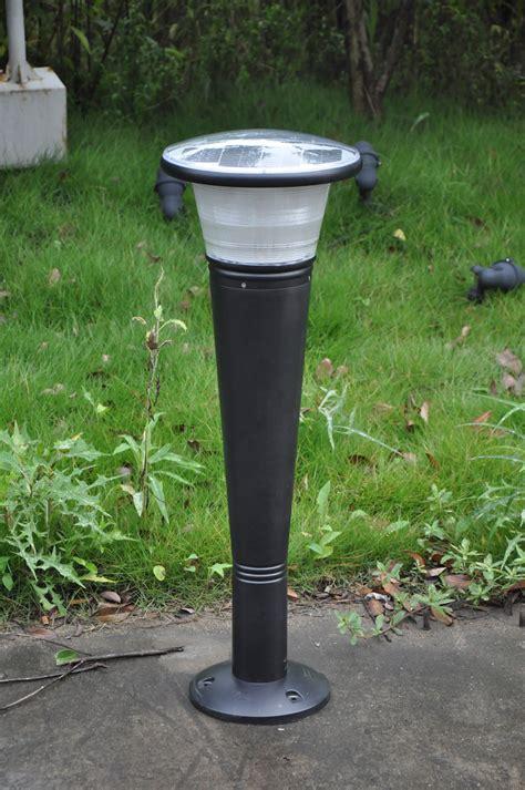 commercial solar outdoor lighting greenshine new energy solar bollard light sll40 solar