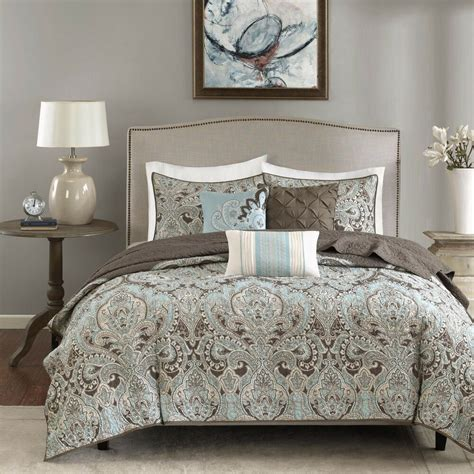 Quilted Coverlet Set by Park Lavinia Quilted 6 Coverlet Set Ebay