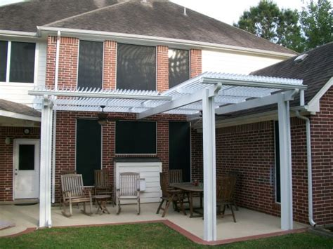 l shaped louvered roof patio cover louvered roof patio