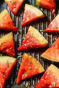 grilled watermelon recipe with honey balsamic glaze