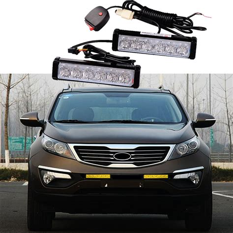 strobe light kits for trucks 1 kit led yellow warning emergency beacon strobe