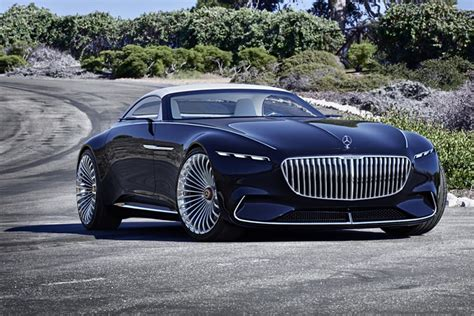 Maybach Car : Vision Mercedes-maybach 6 Cabriolet Unveiled At Pebble