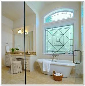 Bathroom window treatments for privacy home decor ideas for Bathroom window ideas for privacy