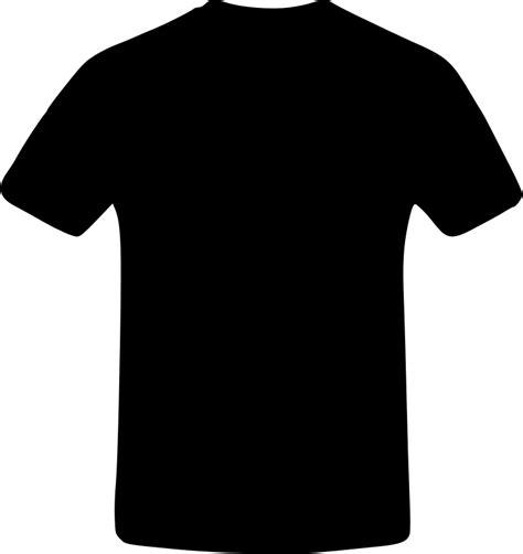 kaos t shirt are 02 clipart black t shirt