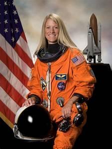 NASA astronaut Karen Nyberg and successful businesswoman ...
